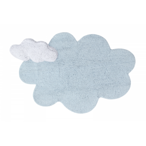 Dywan do prania w pralce 110x170 cm PUFFY Dream Blue Lorena Canals