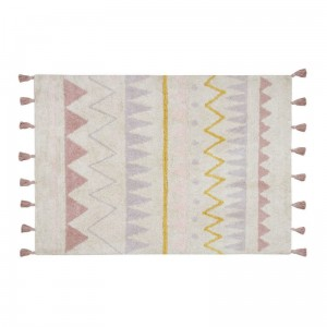 Dywan do prania w pralce 120x160 cm Azteca Natural - Vintage Nude Lorena Canals